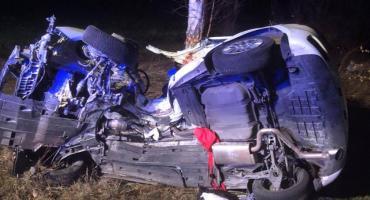 Wypadek na DK3. Jedna osoba zginęła, druga walczy o życie.