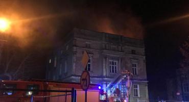 Pożar mieszkania na Wojska Polskiego
