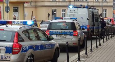 Interwencja policji na ul Bankowej