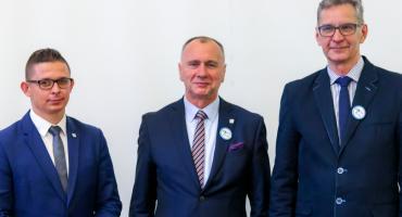 Prezydent Jerzy Łużniak przedstawił swoich zastępców