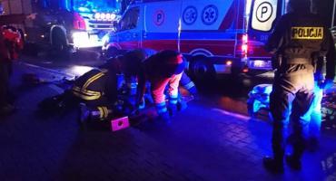 Kobieta potrącona na przejściu dla pieszych. Zmarła w szpitalu.