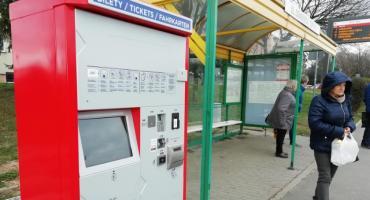 Nowe biletomaty na przystankach MZK