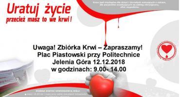 I Ty możesz uratować komuś życie! Już jutro zbiórka krwi na Placu Piastowskim
