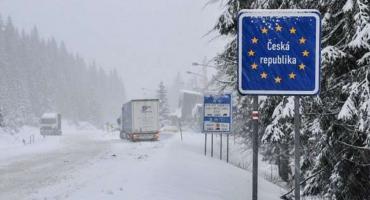 Zamknięte przejście graniczne w Jakuszycach