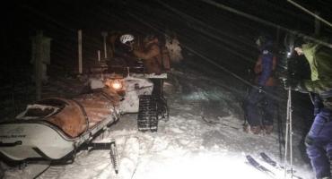 GOPR Karkonosze - kolejne akcje ratunkowe