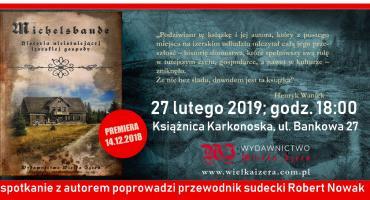 Michelsbaude - historia niestniejącej izerskiej gospody. Spotkanie z Marcinem Wawrzyńczakiem