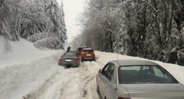 Dramatyczne warunki na drodze do Czech . Kto za to odpowiada?