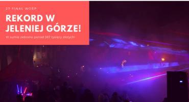 WOŚP Jelenia Góra : Kolejny rekord pobity!