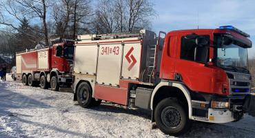 Wyciek gazu w Borowicach. Ewakuowano ok. 50 osób