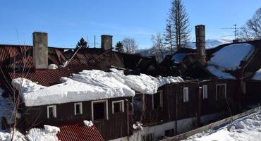 Szklarska Poręba - Trwają czynności dochodzeniowe po tragicznym pożarze