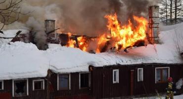 Ciężki czas dla jeleniogórskich strażaków