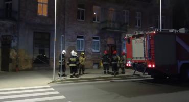 Interwencja straży pożarnej na Wyczółkowskiego