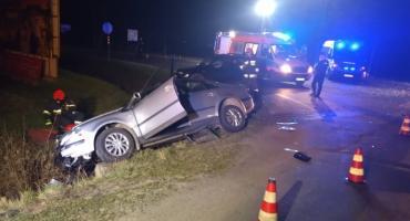 Groźny wypadek w Kowarach Jedna osoba oddaliła się z miejsca zdarzenia