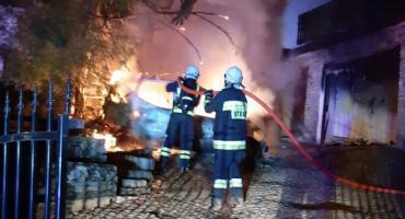 W Karpaczu (znowu) spłonął samochód