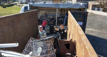 Mieszkańcy wspomogli strażaków OSP Rybnica