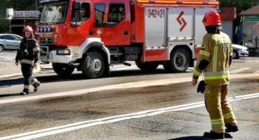Kilometrowa plama oleju na Zabobrzu