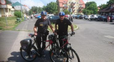 Patrol rowerowy w Cieplicach