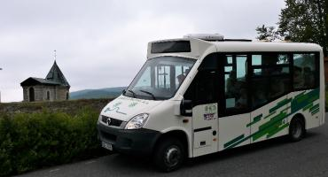 Przez Góry Izerskie elektrycznym busem