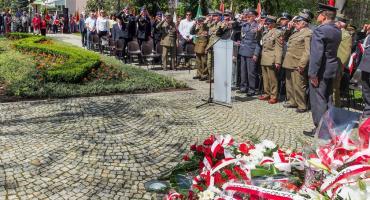 Uroczystości upamiętniające 80 rocznicę wybuchu II Wojny Światowej