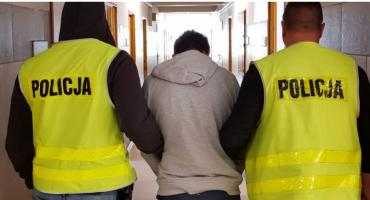 21-latek zatrzymany za serię przestępstw