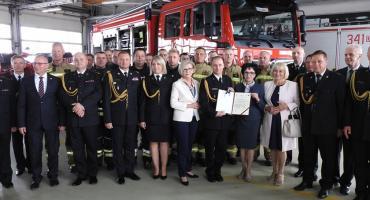 Nowy wóz bojowy dla straży pożarnej