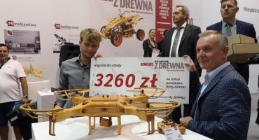 """Drewniany dron z """"Rzemiosł"""" nagrodzony"""