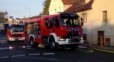 Pożar pustostanu na Osiedlu Robotniczym
