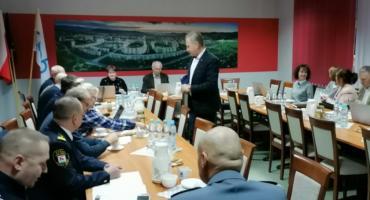 Strażnicy Miejscy spotkali się z zarządem Jeleniogórskiej Spółdzielni Mieszkaniowej