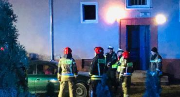 Pożar w mieszkaniu przy ulicy Mickiewicza