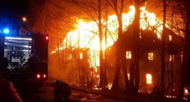 Pożar w Świeradowie Zdroju