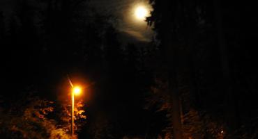 Wasze zdjęcia - Noc w Szklarskiej Porębie