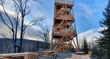 Wieża widokowa w Czerniawie Zdroju już otwarta