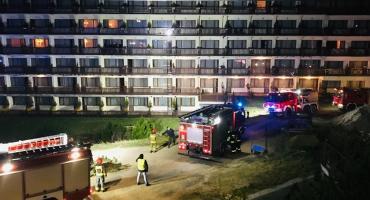 Alarm i ewakuacja w hotelu Gołębiewski w Karpaczu