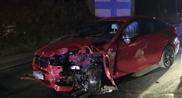 Zderzenie czterech aut w Kaczorowie