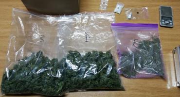 Aresztowana za posiadanie znacznych ilości narkotyków.