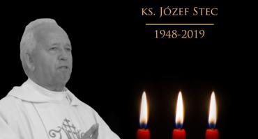 Zmarł ksiądz prałat Józef Stec