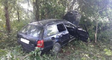 Wypadek drogowy w Macharcach
