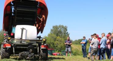 Maszyny zielonkowe KUHN pokazano w Jenorajściu (filmy + foto)
