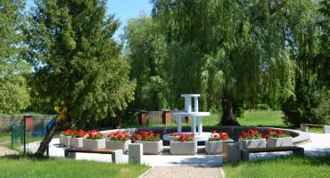 Rewitalizacja parku z fontanną przy Powiatowym Urzędzie Pracy w Sejnach