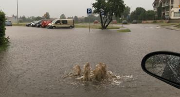 Głęboka woda na ulicach