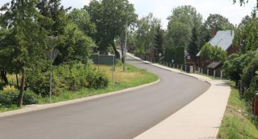 Berżniki mają nowy asfalt i chodniki