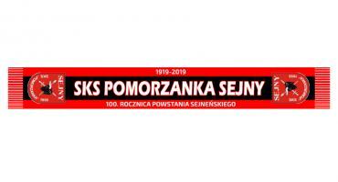 Szaliki klubowe SKS Pomorzanka Sejny - edycja limitowana