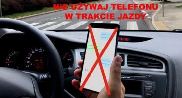 Jutro - dzień bez telefonu na drodze