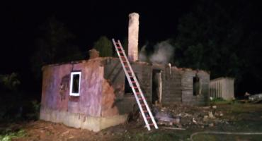 W Markiszkach stracili dom w pożarze