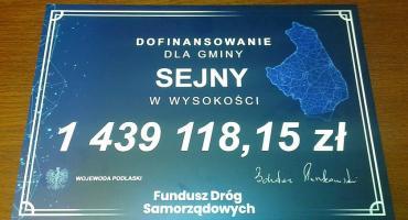 Droga Hołny Wolmera-Dworczysko do remontu