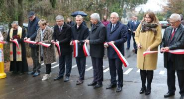 Modernizacja drogi Sejny - Bosse - Berżałowce zakończona