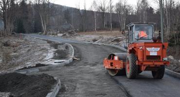 Trwa budowa ulicy Stromej