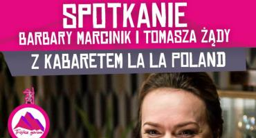 Spotkanie Barbary Marcinik i Tomasza Żądy z Kabaretem La La Poland