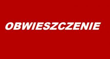 Obwieszczenie burmistrza Szklarskiej Poręby
