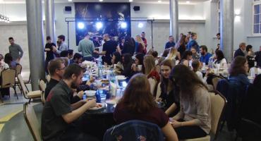 Multikulturowa kolacja w PWSZ